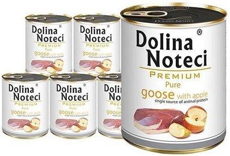 Dolina Noteci Premium Pure Gęś z jabłkiem 6x800g