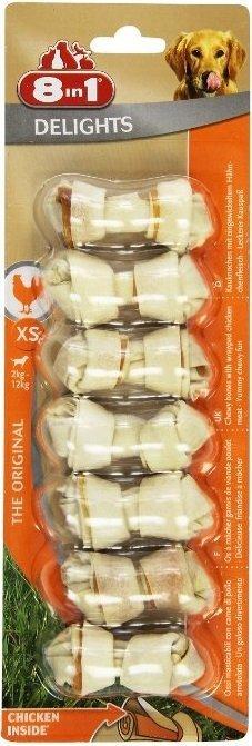 Przysmak 8in1 Delights Bones XS 7szt.