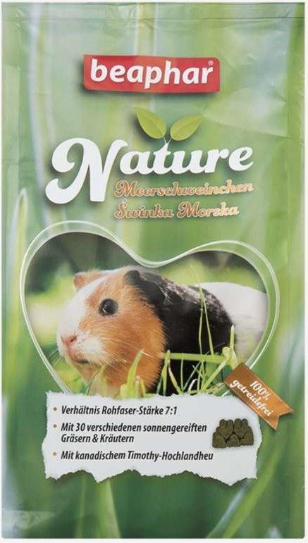 Beaphar Nature Super Premium - pokarm dla świńki morskiej 1250g