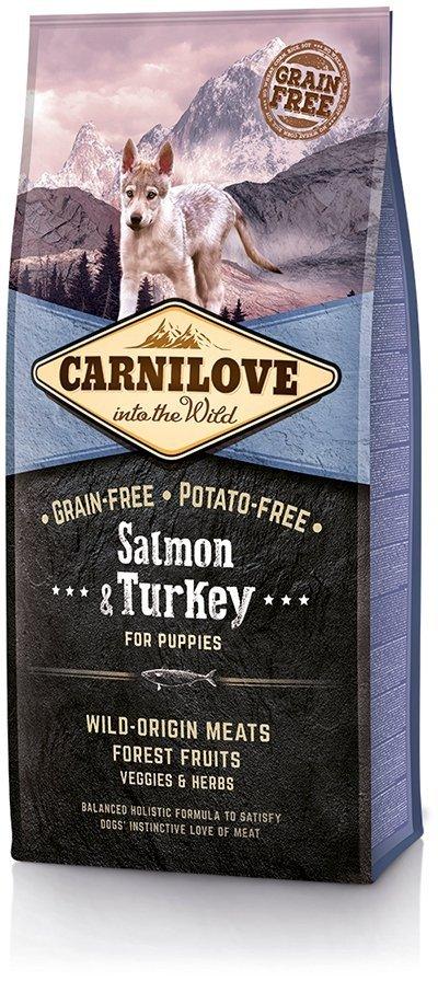 Carnilove Puppy Salmon & Turkey - dla szczeniąt 12kg