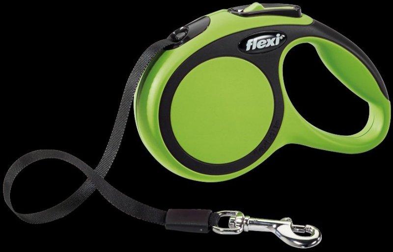 Flexi New Comfort XS taśma 3m - zielona