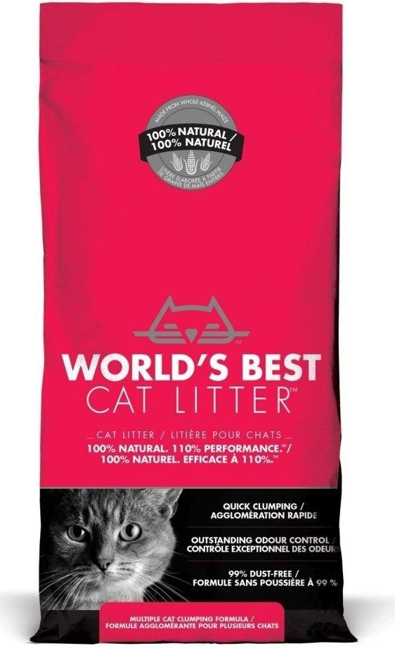 World's Best Cat Litter Extra Strength - extra mocny 3,18kg