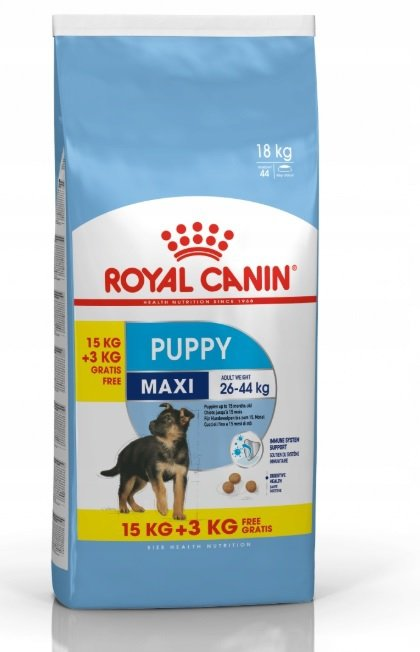 Royal Canin Maxi Puppy 15kg+3 /18kg/