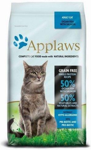 Applaws Sucha karma dla kotów Ocean Fish &Salmon 1,8kg