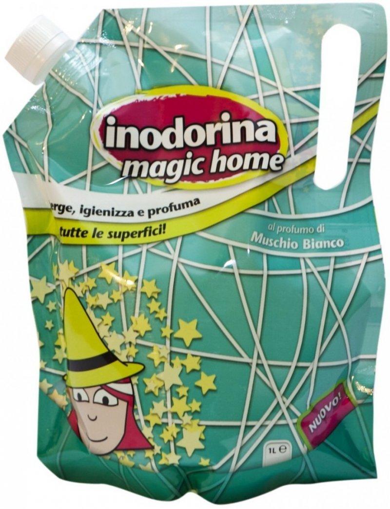 Inodorina Magic Home Płyn do mycia powierzchni o zapachu białego piżma 1l