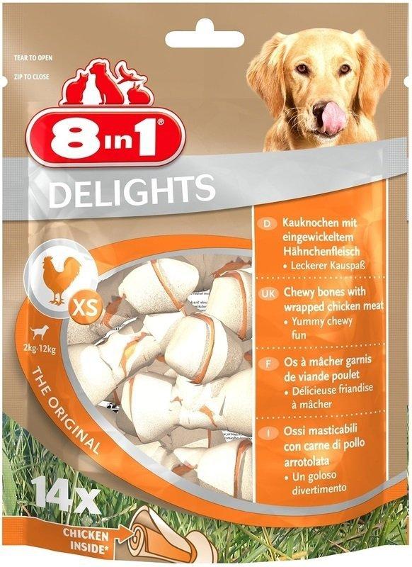 Przysmak 8in1 Delights Bones XS 14szt.