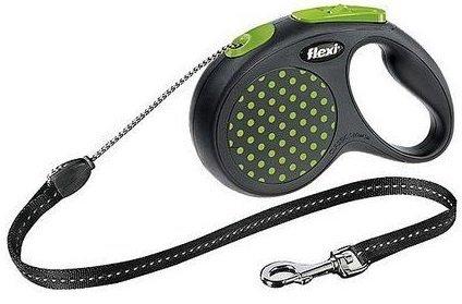 Flexi Design S linka 5m - do 12kg - zielona