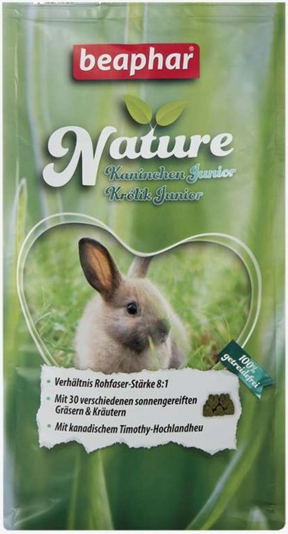 Beaphar Nature Super Premium - pokarm dla królika juniora 750g