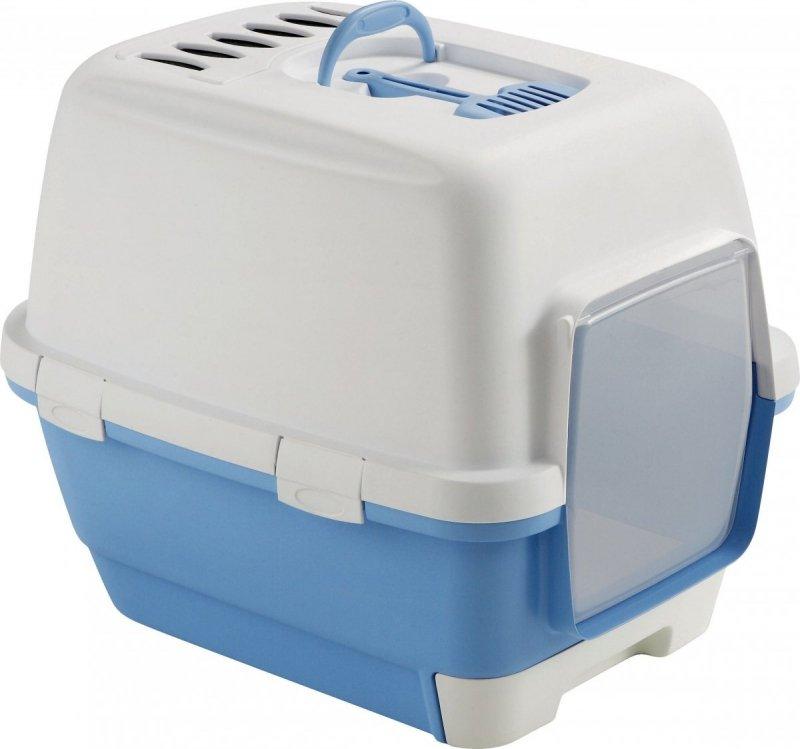 Stefanplast Kuweta Cathy Clean & Smart z szufladą - błękitna