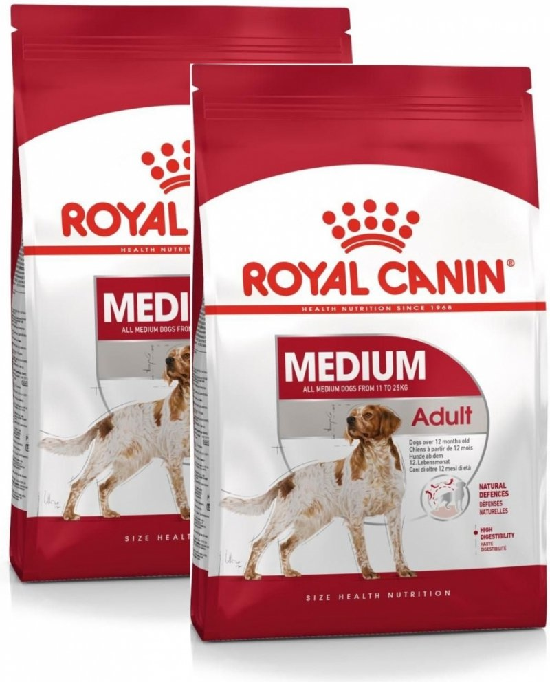 Royal Canin Medium Adult 2x15kg (30kg)