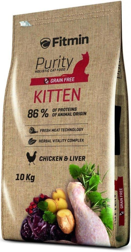Fitmin Purity Kitten - Karma dla kociąt oraz ciężarnych i karmiących kotek 2x10kg (20kg)