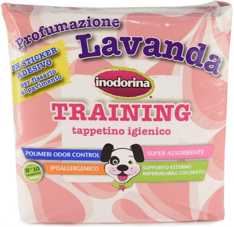Inodorina Training Podkłady treningowe o zapachu lawendy 60x60cm - 10szt.