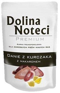 Dolina Noteci Premium Dla małych ras Danie z kurczaka z makaronem 12x100g