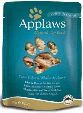 Applaws saszetka dla kotów Tuńczyk & Anchois 12x70g