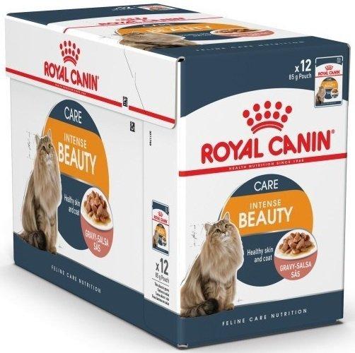Royal Canin Intense Beauty w sosie - 12x85g