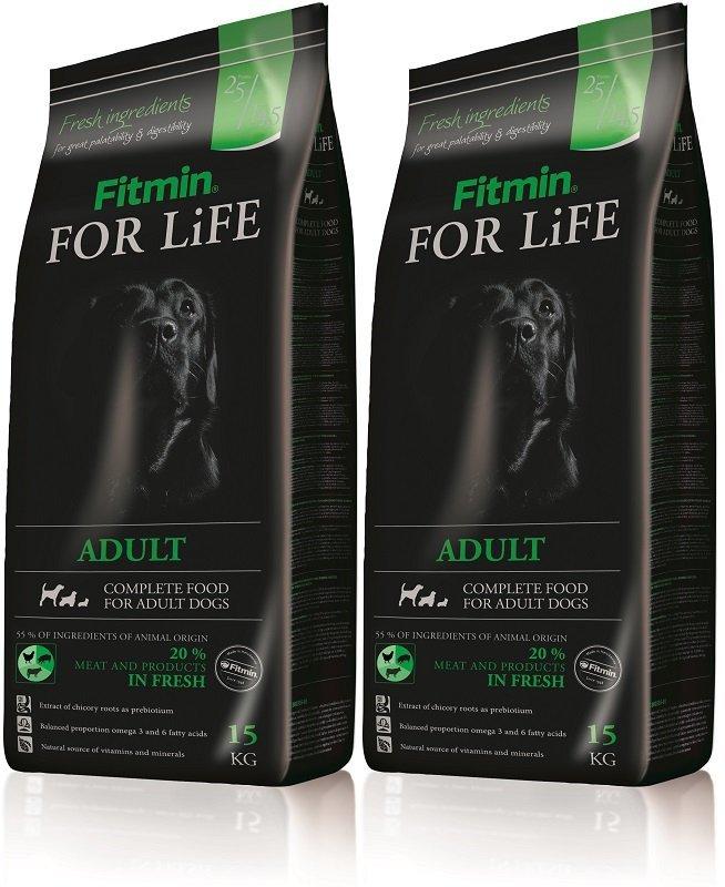 Fitmin Dog For Life Adult 2x15kg (30kg)