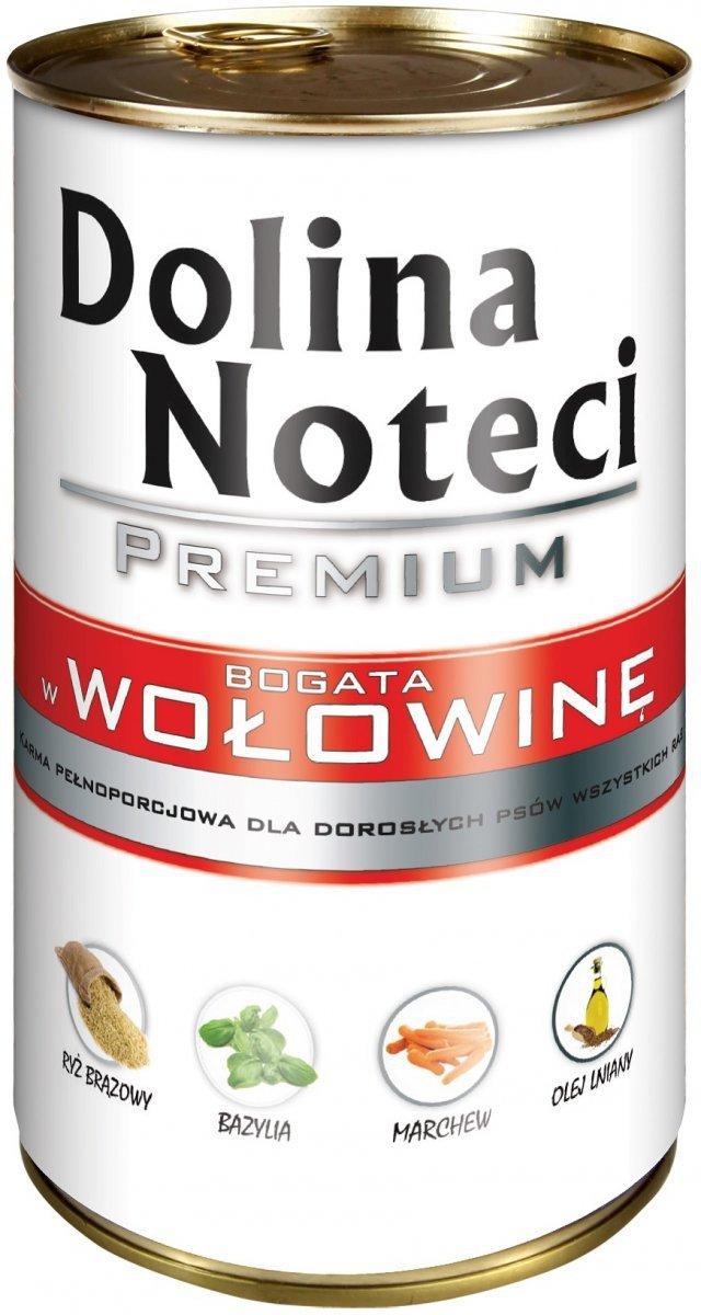 Dolina Noteci Premium Bogata w wołowinę 12x400g