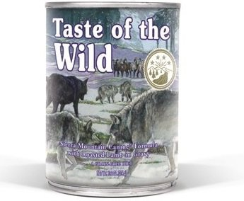 Taste of the Wild Sierra Mountain - mokra karma dla psów 12x390g