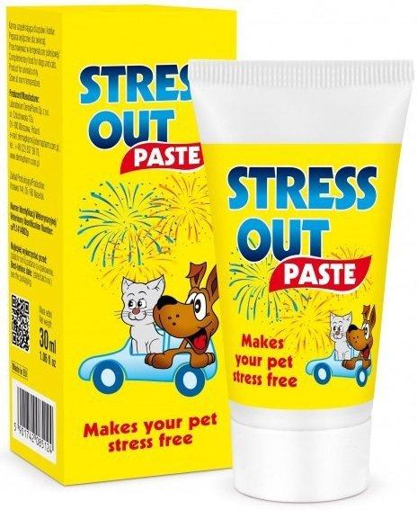 Stress Out - pasta uspokajająca dla psów i kotów 30ml