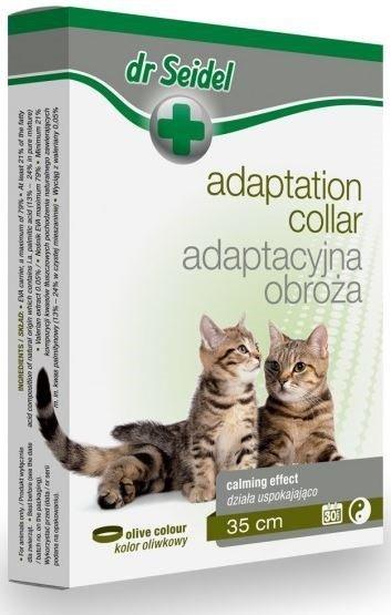 Dr Seidel Obroża adaptacyjna dla kotów - pomoc behawioralna