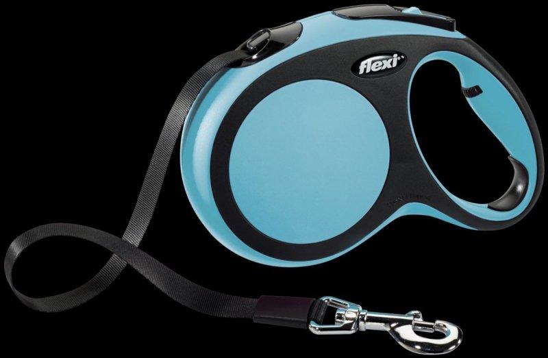 Flexi New Comfort L taśma 8m - niebieska