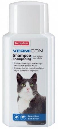 Beaphar Vermicon Szampon dla kotów 200ml