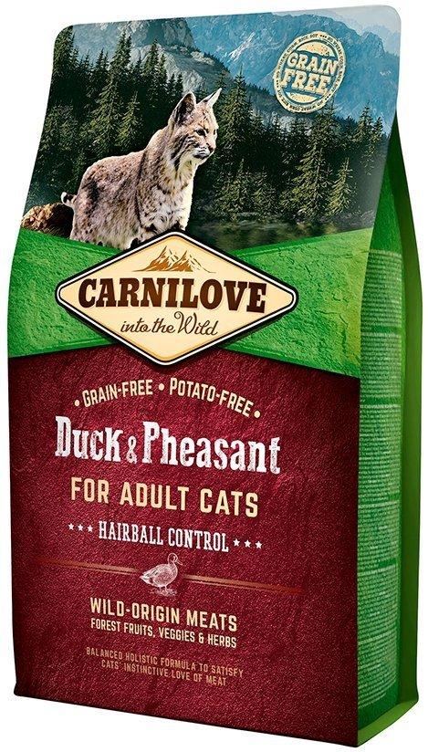 Carnilove Cat Duck & Pheasant - dla kotów dorosłych 6kg