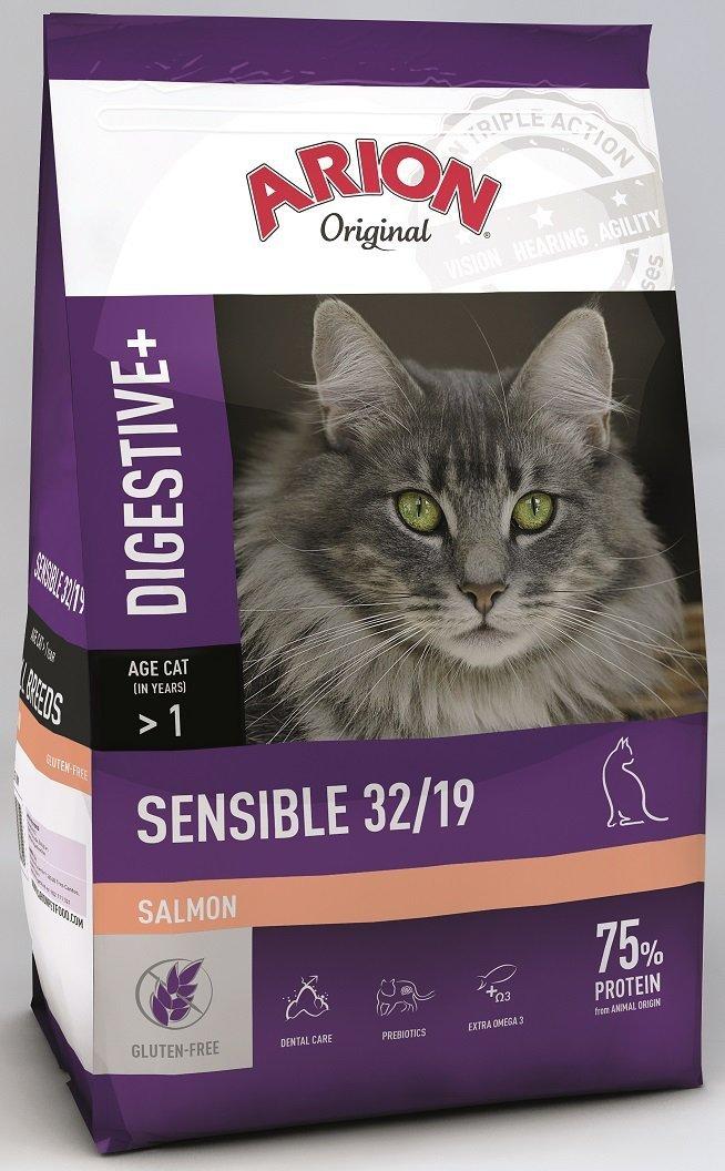 Arion Original Cat Sensible 32/19 Salmon 7,5kg