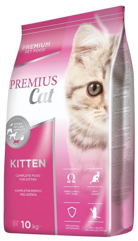 Premius Kitten - pełnoporcjowa karma dla kociąt 10kg