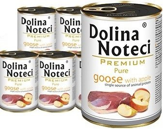 Dolina Noteci Premium Pure Gęś z jabłkiem 12x400g