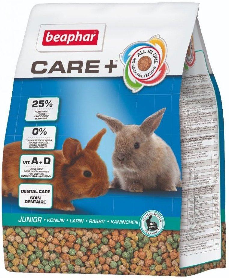 Beaphar Care+ Rabbit Junior - karma super premium dla królika do 10 m-ca życia 1,5kg