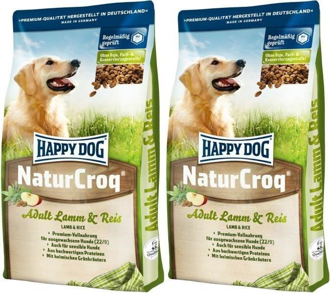 Happy Dog NaturCroq Jagnięcina i ryż 2x15kg (30kg)