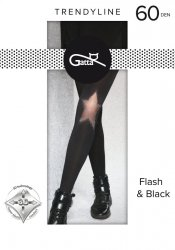 Rajstopy Gatta Flash & Black wz.01 60 den