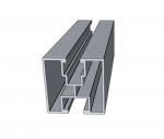 Profil aluminiowy z głębokim kanałem 4140mm