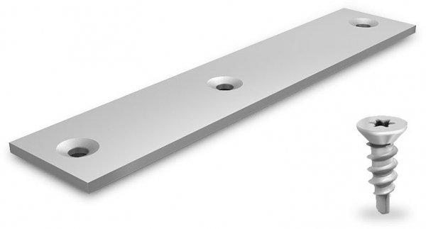 K2 Speed-Rail element przedłużający (1szt z płaskim rozszerzenie, 2-calowy śruby Torx 4,8x16)