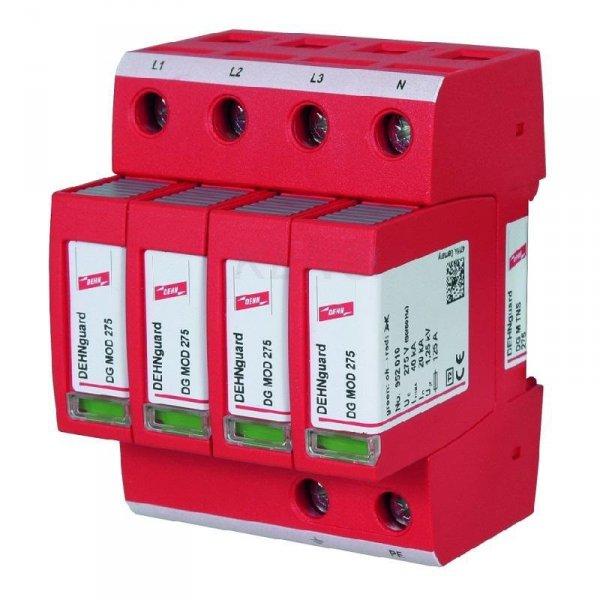 Ogranicznik przepięć AC DEHNguard M TNS 275, 4P Typ II