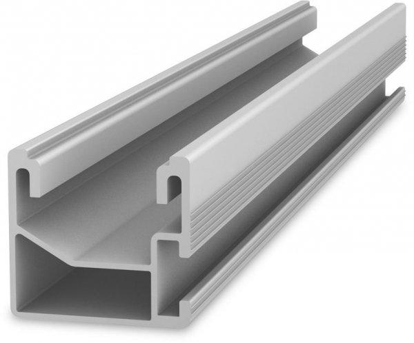 K2 SingleRail, lekka szyna aluminiowa do haków SingleHook, 3,15m