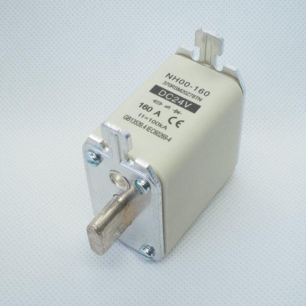 Wkładka bezpiecznikowa NH00 160A 24V DC