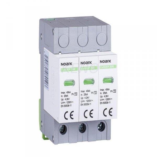 Ogranicznik przepięć SPD Ex9UEP, typ II, 1000 V DC, 3 moduły szer.