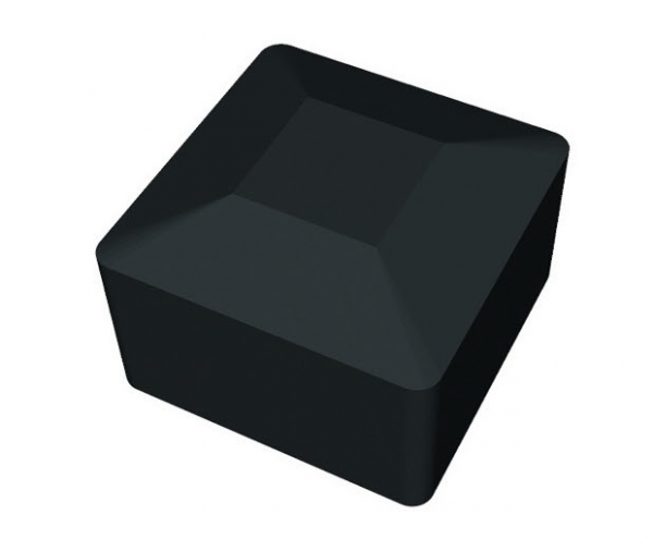 Zaślepka profilu montażowego - czarna