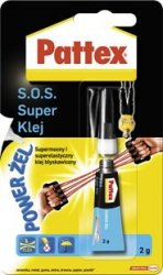 Klej SOS  Super żel 2g PATTEX