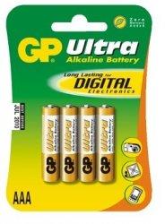 GP Bateria alkaliczna LR03 Ultra Alkaline BL/4