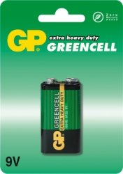GP Bateria cynkowo-chlorkowa 6F22 Greenline BL/1