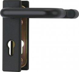 Klamka przeciwpożarowa 72 czarna Abus