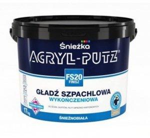 ACRYL-PUTZ FS20 Finisz gotowa masa szpachlowa 8kg