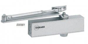 Samozamykacz THIRARD DESIGN 981 drzwiowy górny srebrny