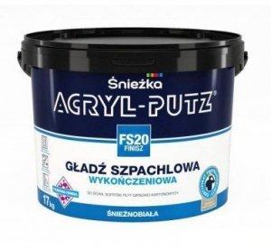 ACRYL-PUTZ FS20 Finisz gotowa masa szpachlowa 17kg