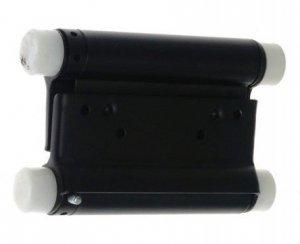 Zawiasa wahadowa 125mm malowana czarna