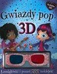 Gwiazdy pop w 3D. Łamigłówki i ponad 200 naklejek