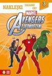 Avengers zjednoczeni - naklejki, zagadki, gry (3)